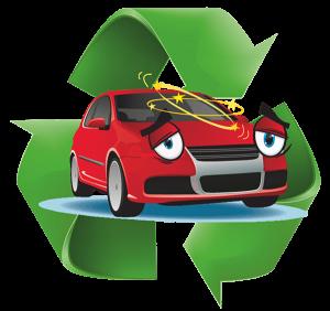 Recylcled Car Logo